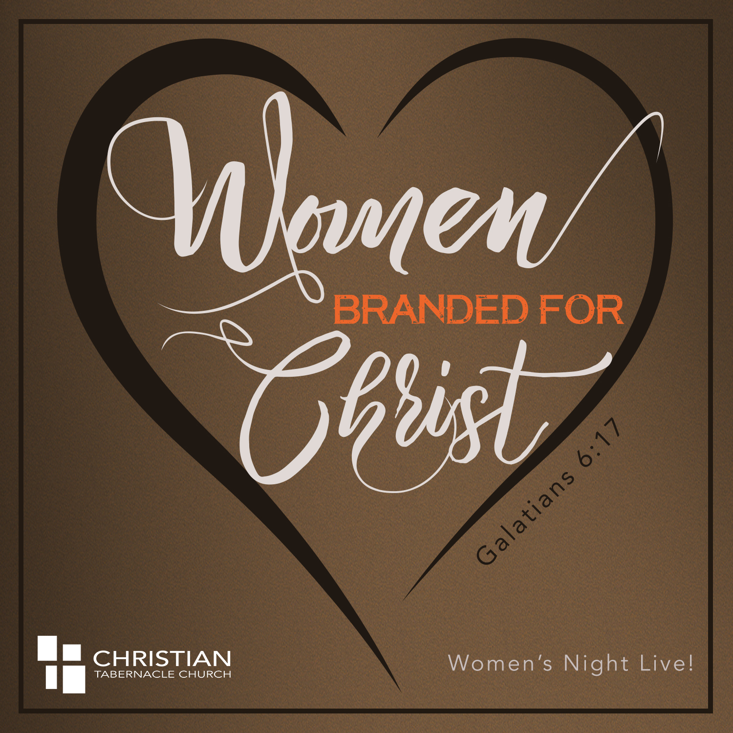 Womens Branded for Christ CTAB