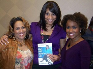 pam perry with clients shelita williams and valorie burton