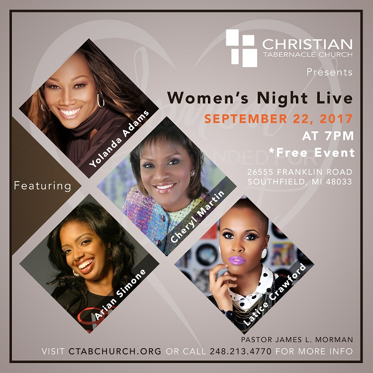CTAB Arian Simon Womens Night Live