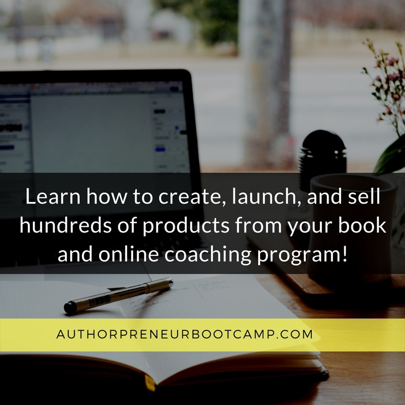 authorpreneur bootcamp pam perry