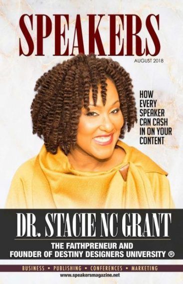 Speakers Magazine Dr Stacie NC Grant