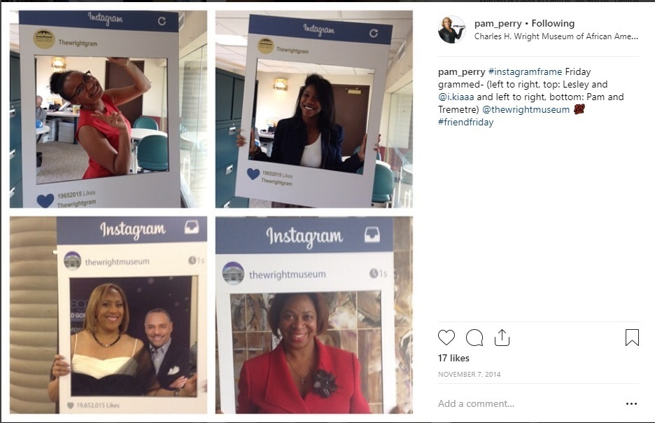 instagram pam perry