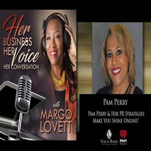 her business her voice podcast cover