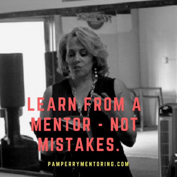 pam perry mentoring program banner