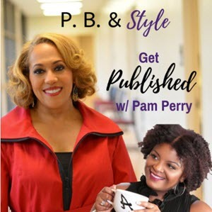 pb and style podcast cover featuring pam perry