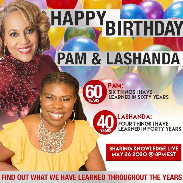 happy birthday pam and lashanda