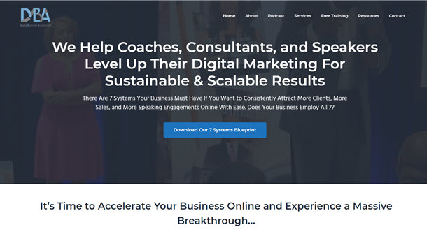 DBA website