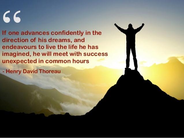 success quote dreams