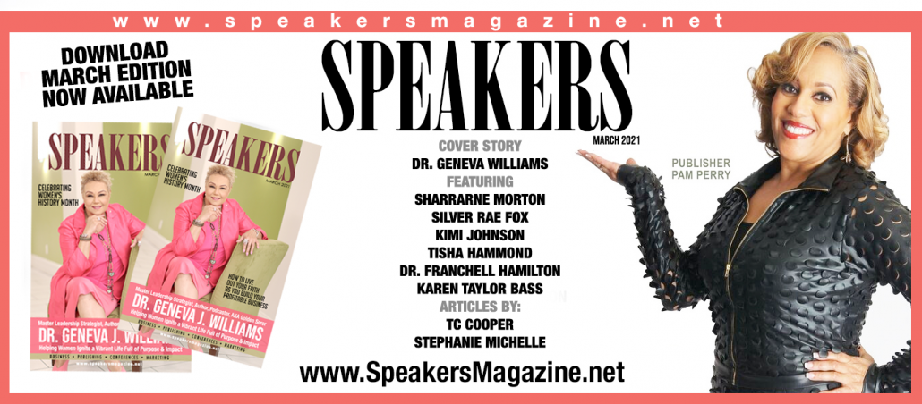 geneva williams speakers magazine