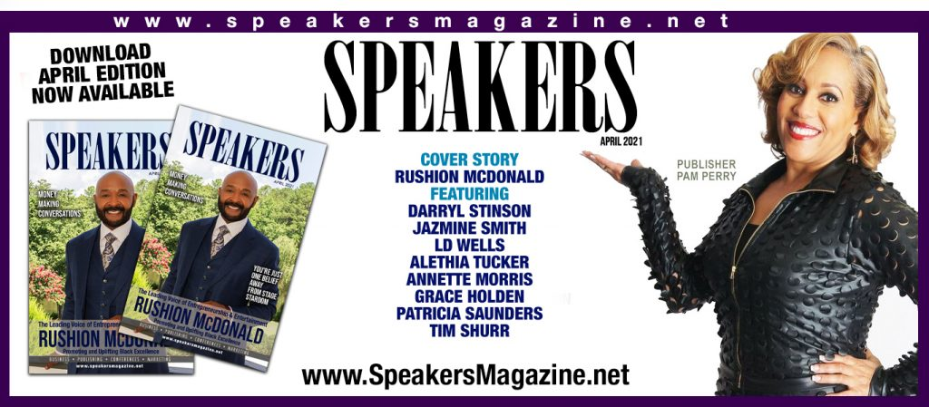 pam perry speakers magazine