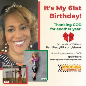 Pam Perry PR birthday